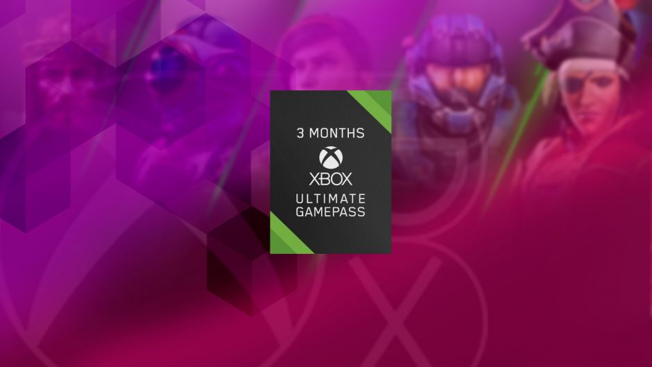We have rented three months for the Xbox Game Pass Ultimate subscription