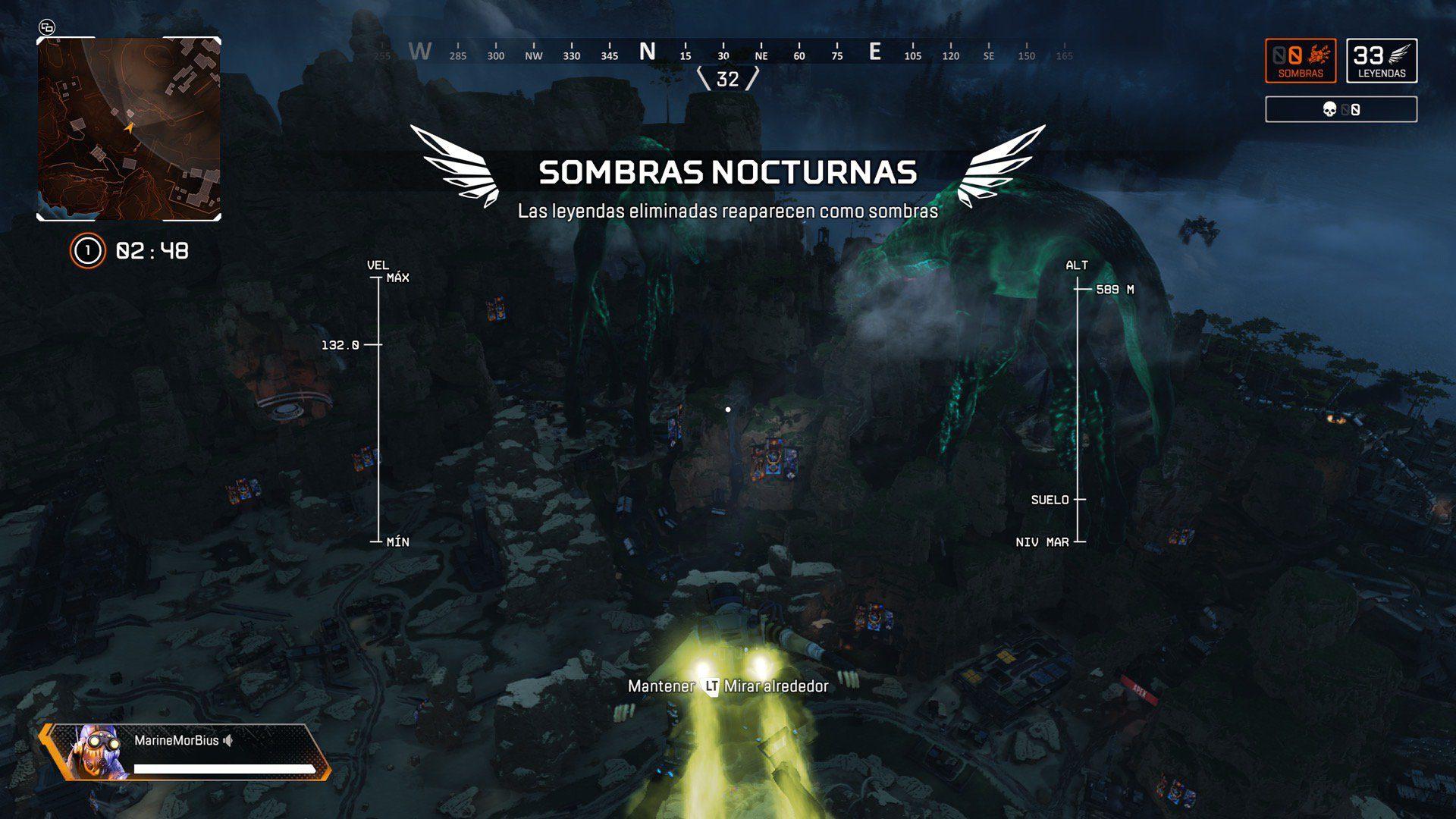 Así es Sombras Nocturnas, el genial nuevo modo de Apex Legends por Halloween