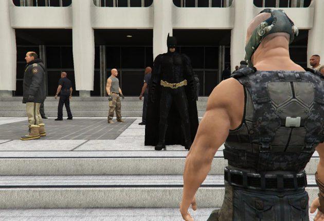 Juega como Batman o Tifa Lockhart en GTA V