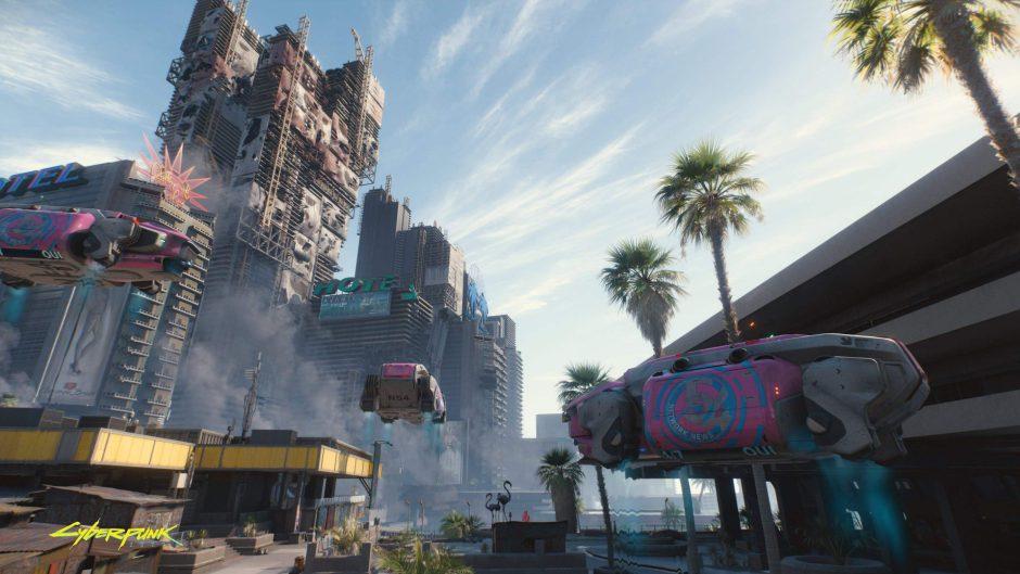 Construyen la ciudad de Cyberpunk 2077 en Minecraft