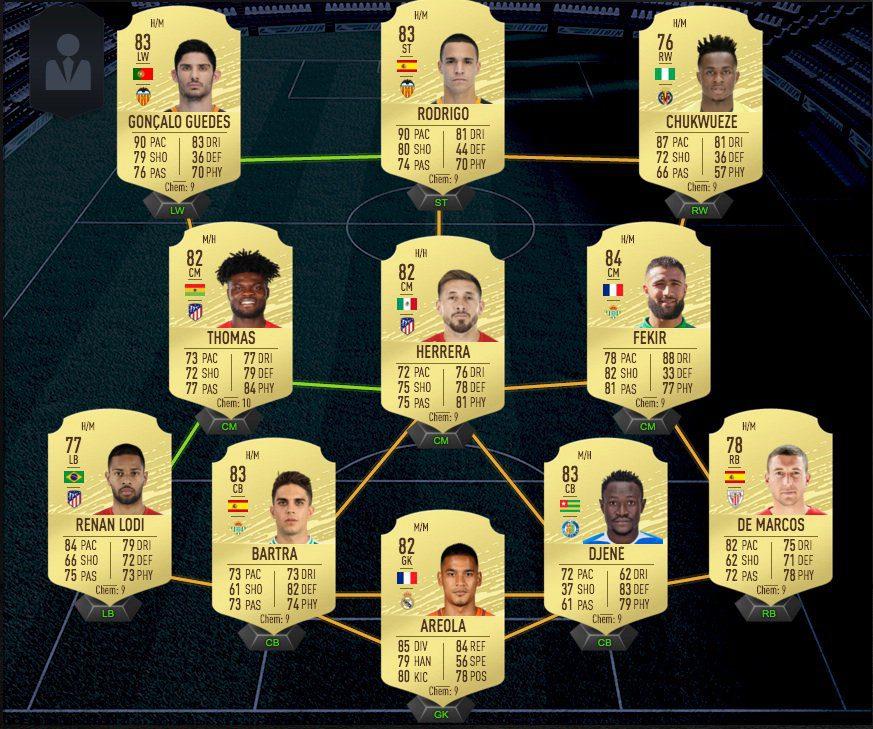 Los mejores equipos baratos para el primer FUT Champions de FIFA 20