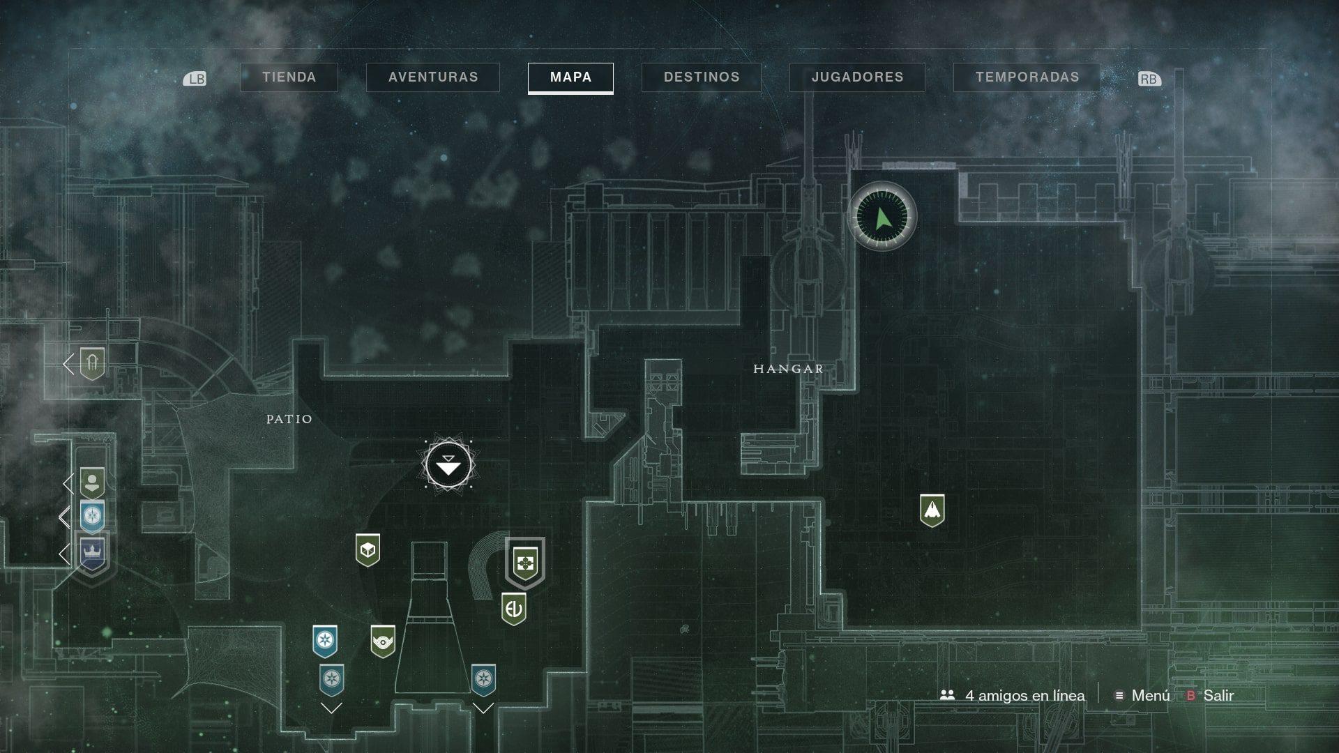 Destiny 2: Localización de Xur del 25 al 29 de octubre