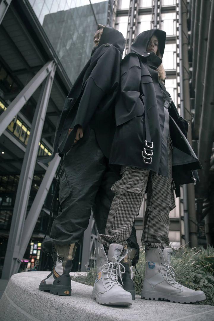 Modelos con las botas limitadas de Palladium y Destiny 2-min