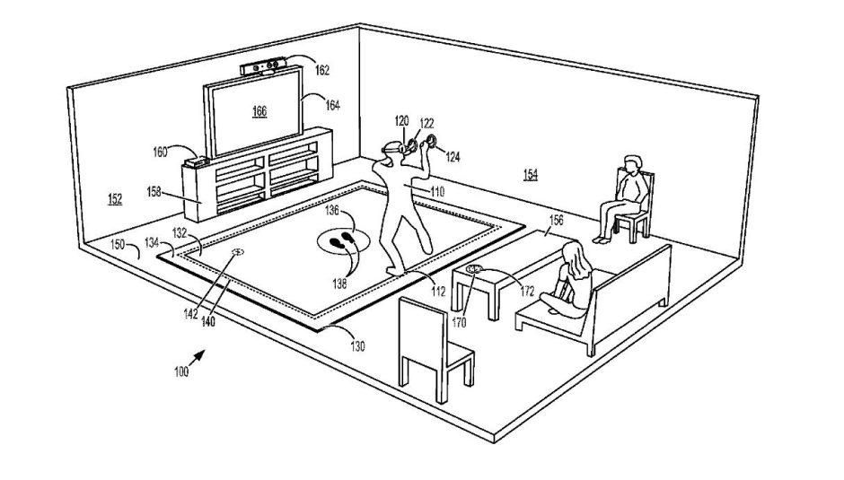 Microsoft patenta una tecnología VR para jugar en Xbox