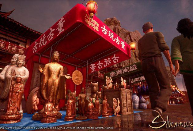 Shenmue 3 muestra nuevas imágenes de sus entornos