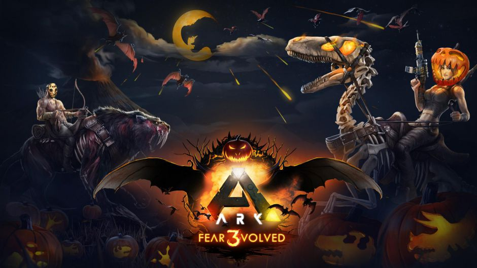 Presentado el evento ARK: Fear Evolved