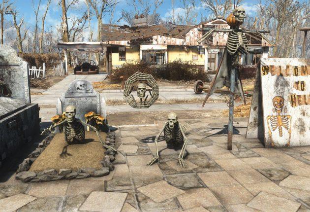 Prepárate para Halloween con este mod de Fallout 4 en Xbox y PC