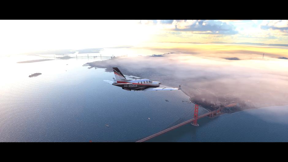 Microsoft Flight Simulator muestra nuevas e increíbles capturas