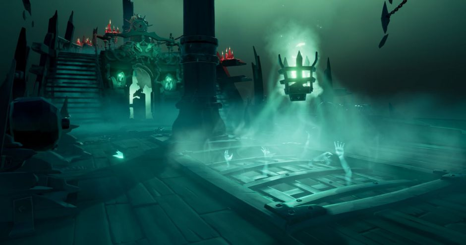 Así es la nueva actualización de Sea of Thieves: Fort of the Damned