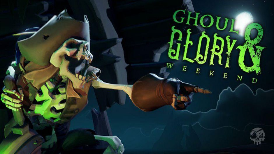 El evento Ghoul & Glory llega a Sea of Thieves con doble de oro y experiencia
