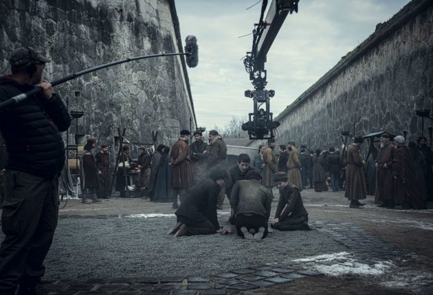Nuevo set de imágenes del rodaje de la serie The Witcher