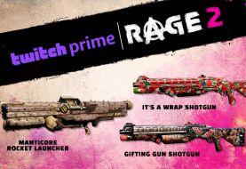 Consigue gratis estas skins de arma para RAGE 2 con Twitch Prime