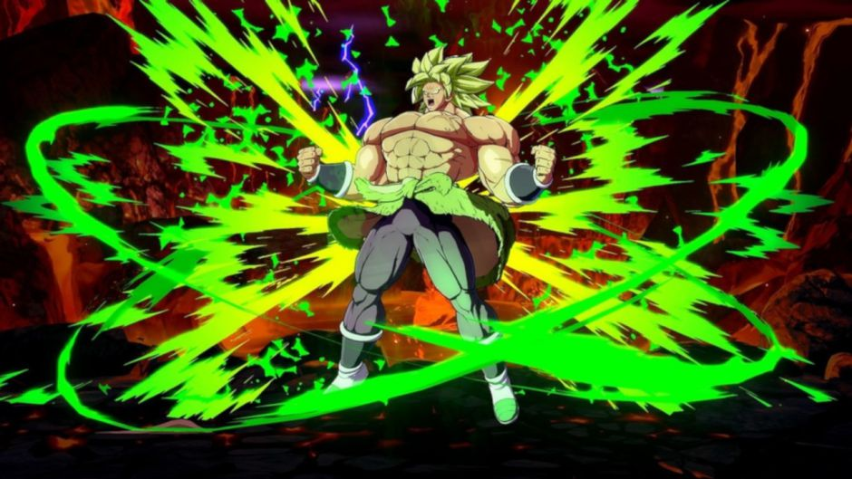 Broly desata su poder legendario en el nuevo tráiler de Dragon Ball FighterZ