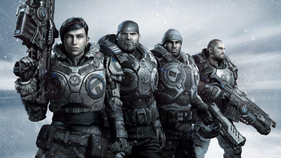 El director tecnico de arte de Gears 5 cambia a los protagonistas por personajes del Enjambre en una cinemática