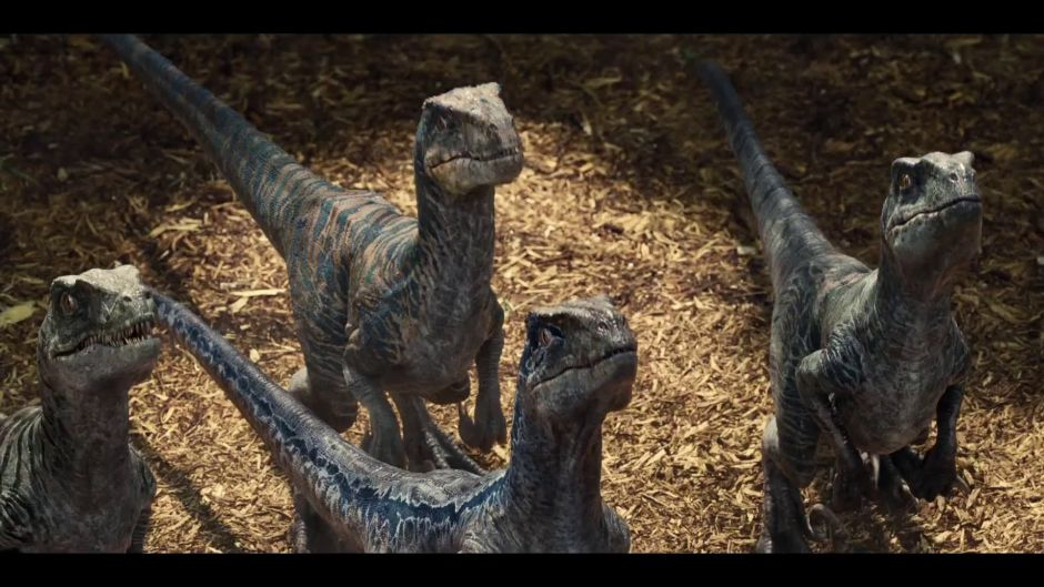 Ya puedes crear al escuadrón raptor de Blue en Jurassic World Evolution