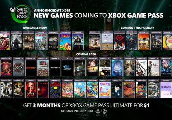 Hay más juegos por anunciar para Xbox Game Pass en 2020