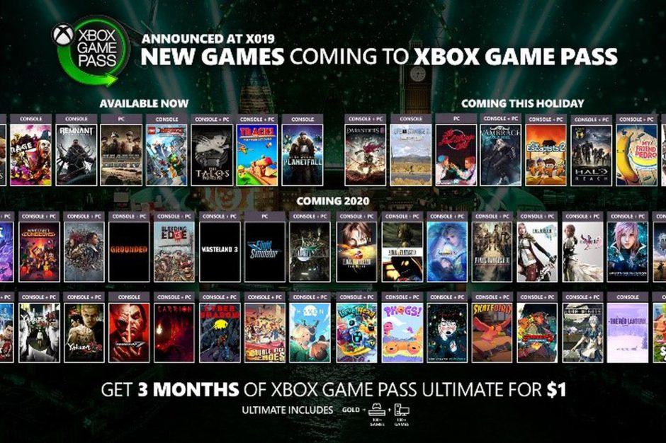 Todos los juegos que llegarán a Xbox Game Pass próximamente