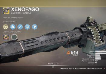 """Guía Destiny 2: Como conseguir la nueva arma Excepcional """"Xenófago"""""""