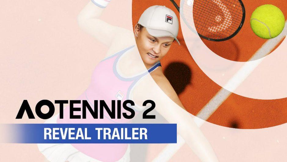 AO Tennis 2 ya tiene fecha de lanzamiento y se presenta con nuevo tráiler