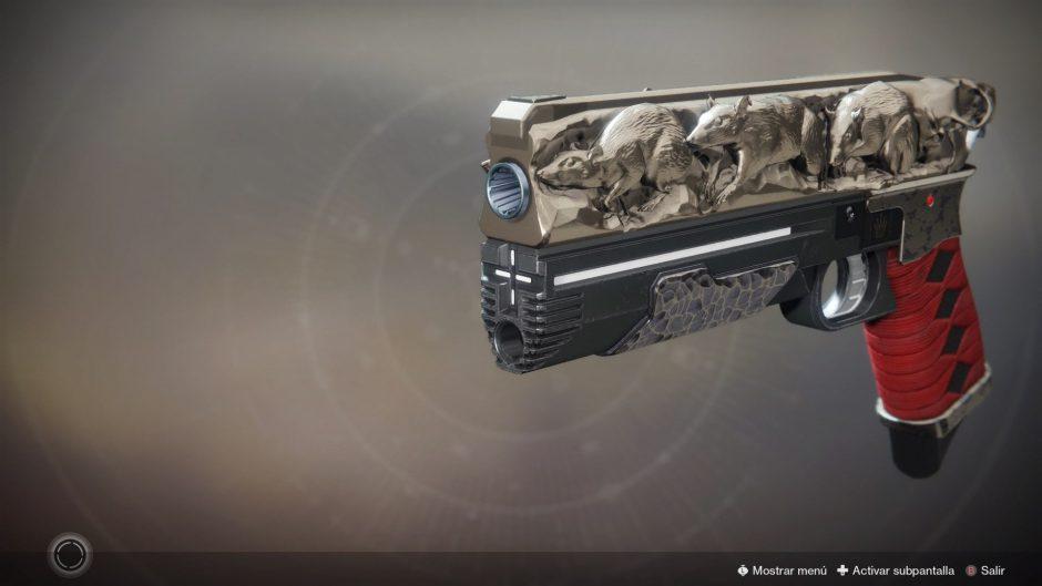 Guía Destiny 2: cómo conseguir la pistola exótica «Rey de las Ratas»