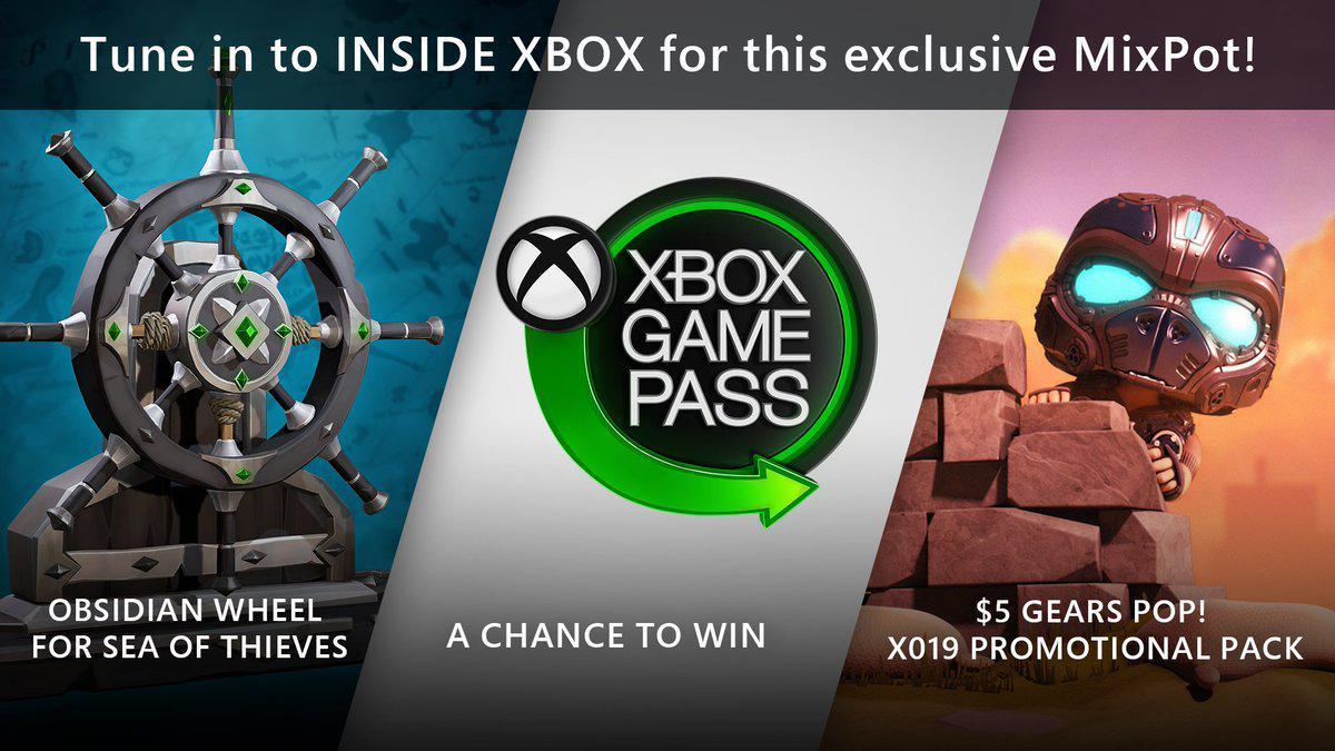 Estos son los regalos del MixPot por ver el Inside Xbox del X019