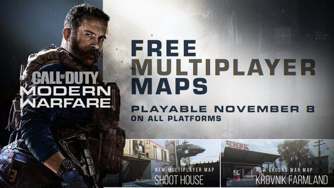 Modern Warfare se actualiza hoy gratuitamente con 2 nuevos mapas y el modo Hardpoint