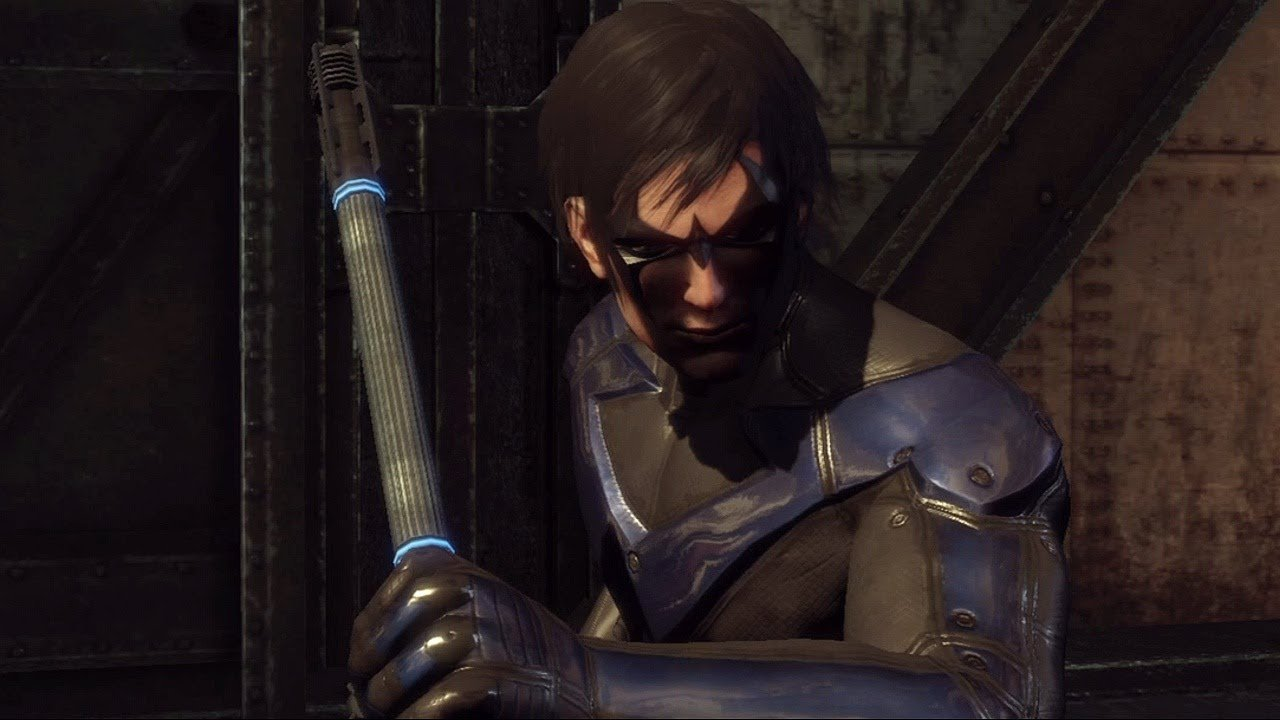 Nightwing en Arkham City