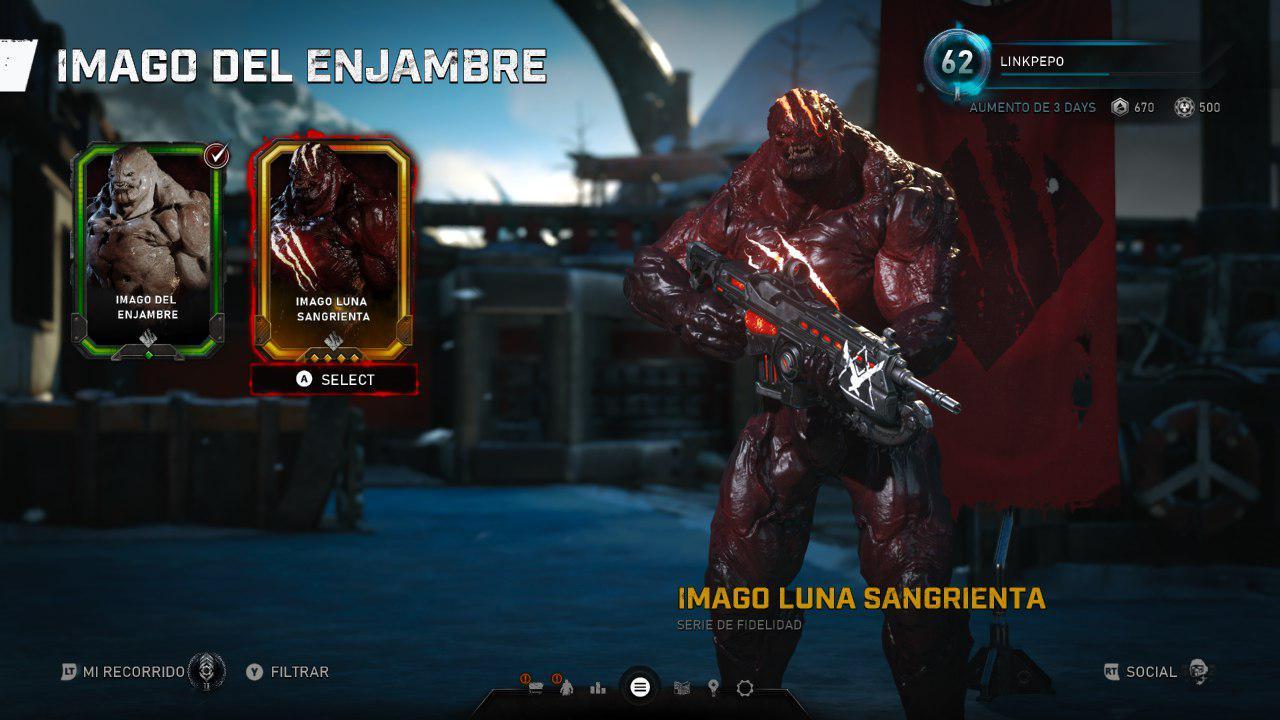 """Ya disponible para todos el Imago """"Luna Sangrienta"""" de Gears 5"""