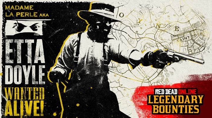 Ya disponible el nuevo contenido para Red Dead Online con una nueva forajida legendaria