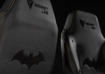 La silla gaming de Secretlab inspirada en Batman es lo mejor que vas a ver hoy