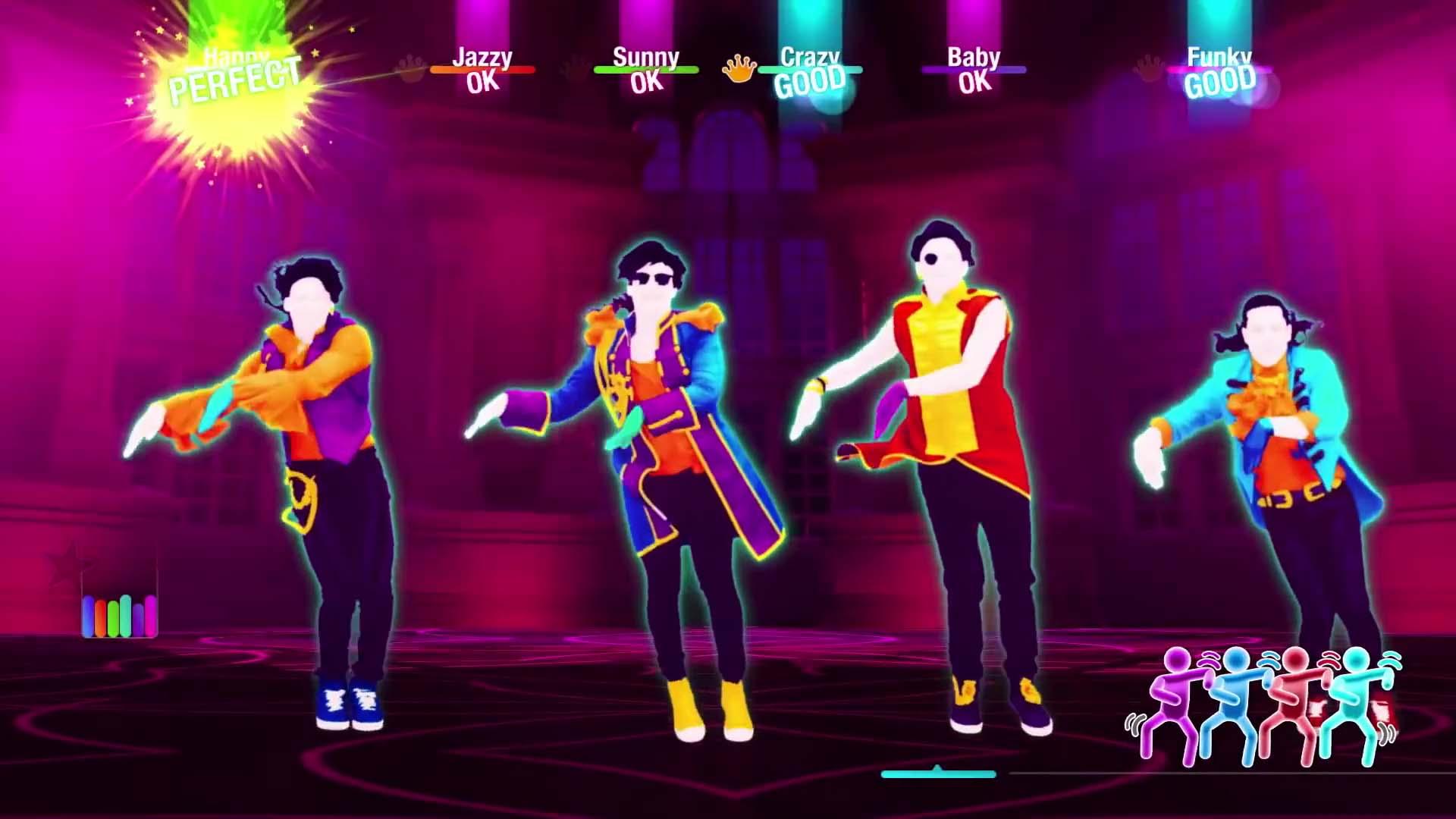 Just Dance 2020 Gráficos