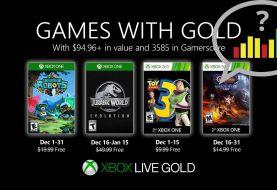 Los lectores de Generación Xbox consideran los Games With Gold de diciembre, malos