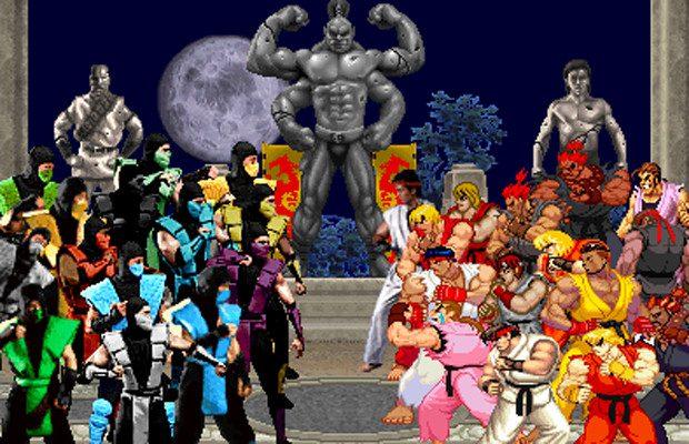 Street Fighter y Mortal Kombat