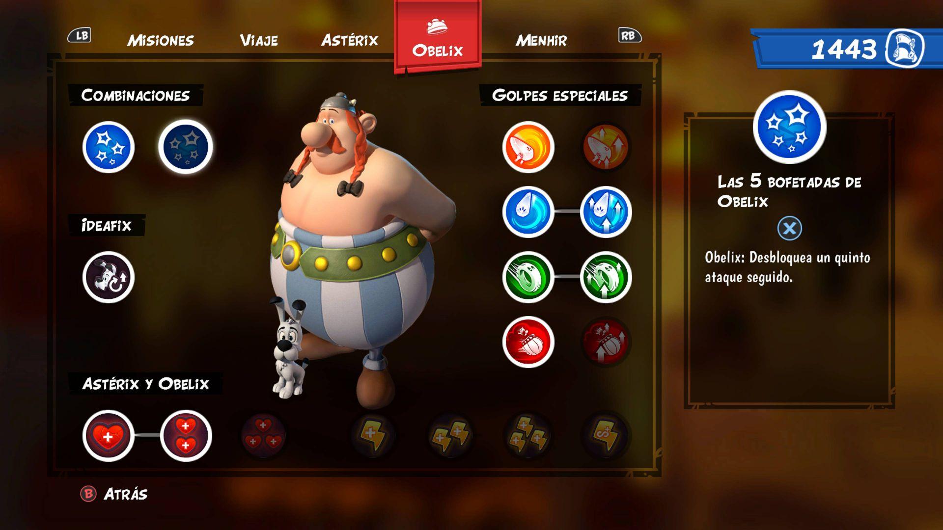 Análisis de Asterix & Obelix XXL3: The Crystal Menhir