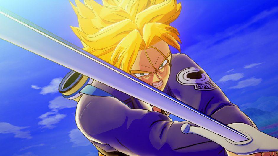 Nuevo gameplay de Dragon ball Z: Kakarot con Trunks como protagonista