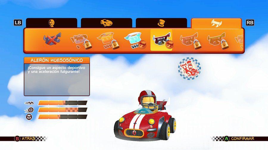 Análisis de Garfield Kart Furious Racing