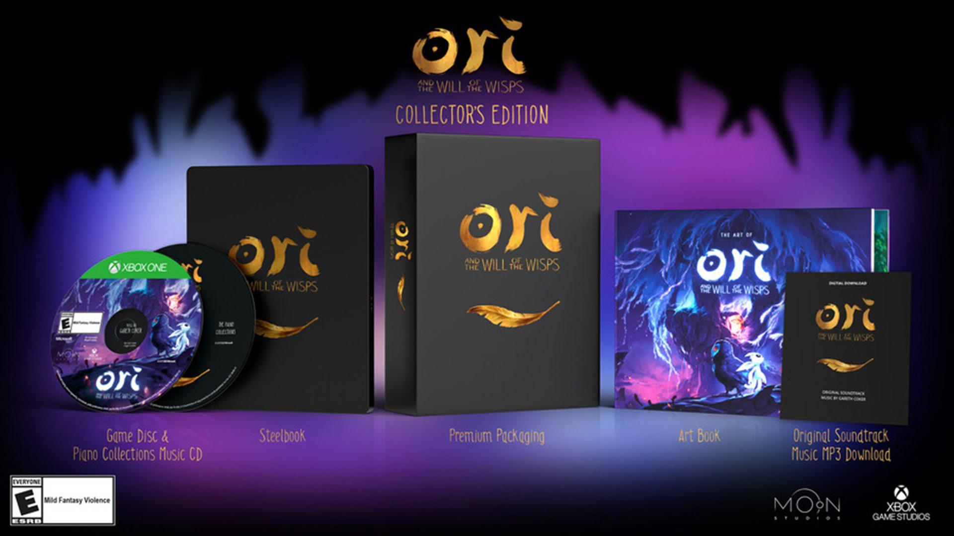 Así es la Collector's Edition de Ori and the Will of the Wisps