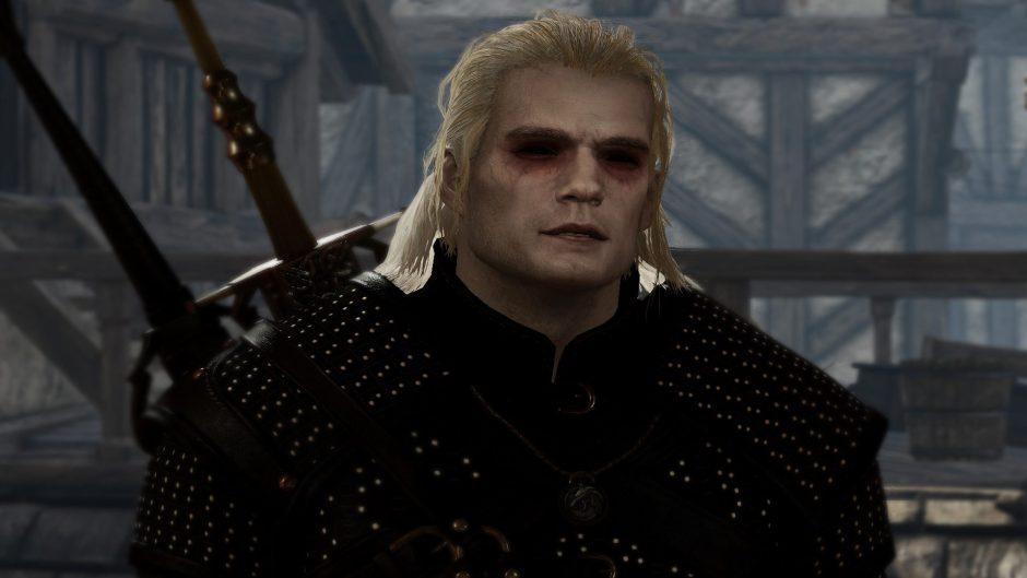 Juega con este mod con Henry Cavill y Anya Chalotra en The Witcher 3