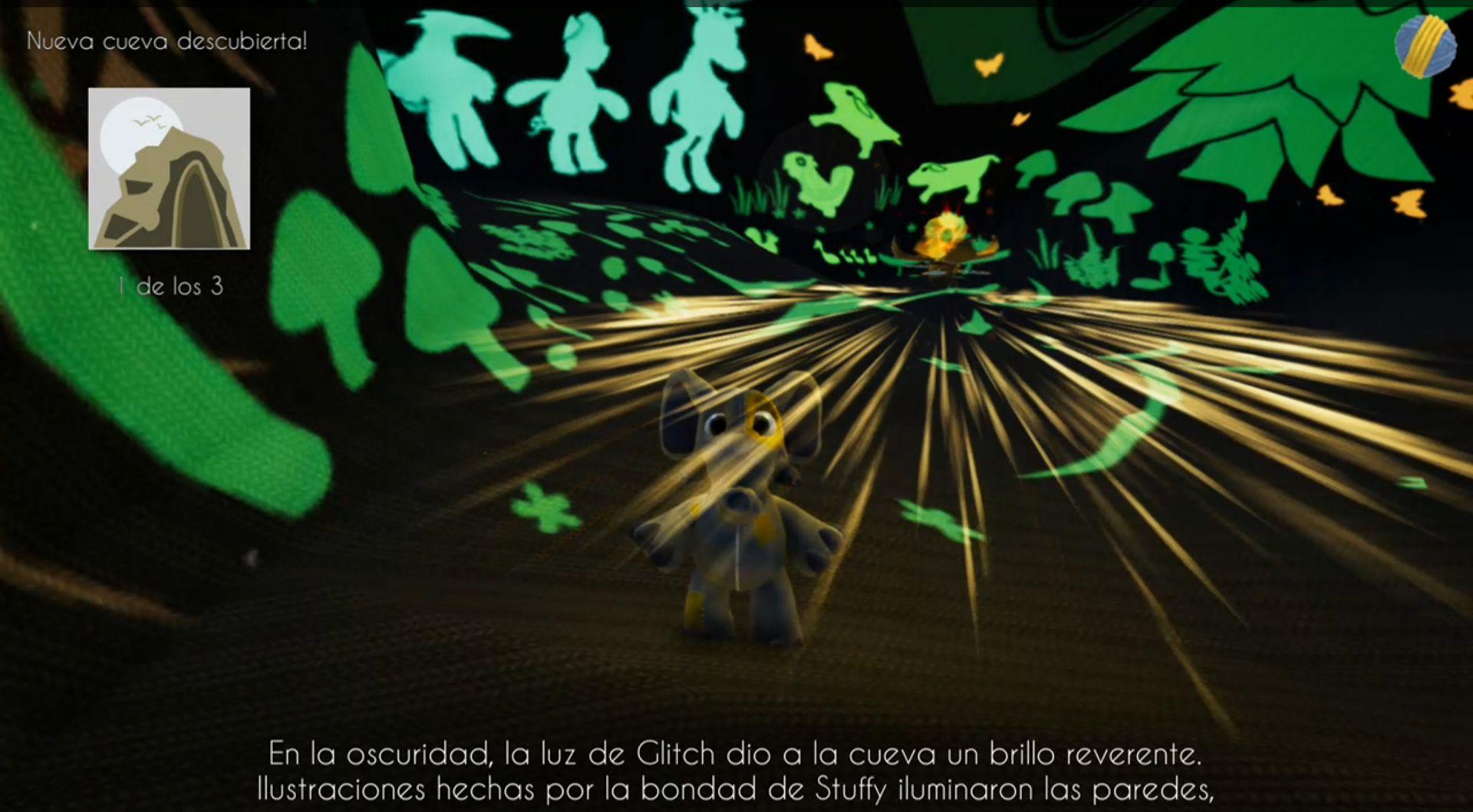 Woven the Game pinturas iluminadas por Glitch