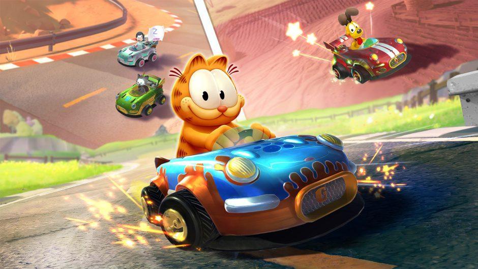 Consigue gratis Garfield Kart por tiempo limitado