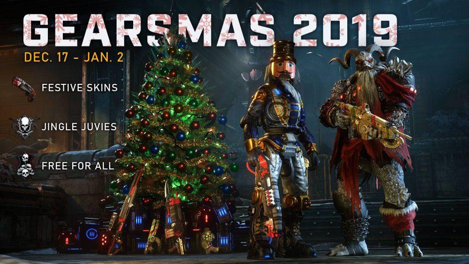 ¡Merry Gearsmas! Llega el primer evento de Navidad a Gears 5