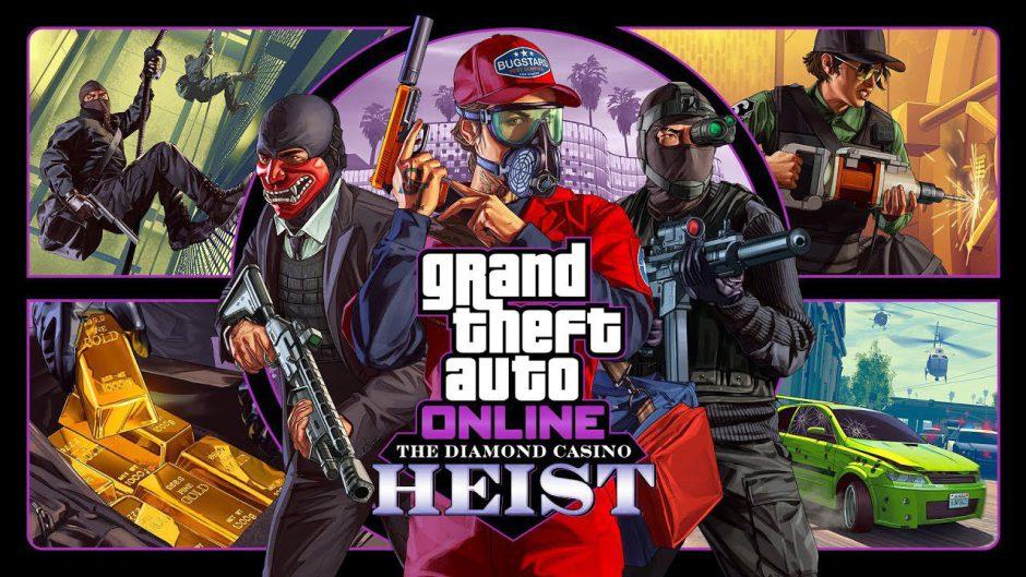 """Recordamos: """"The Diamond Casino Heist"""" la nueva actualización de GTA Online ya está disponible"""