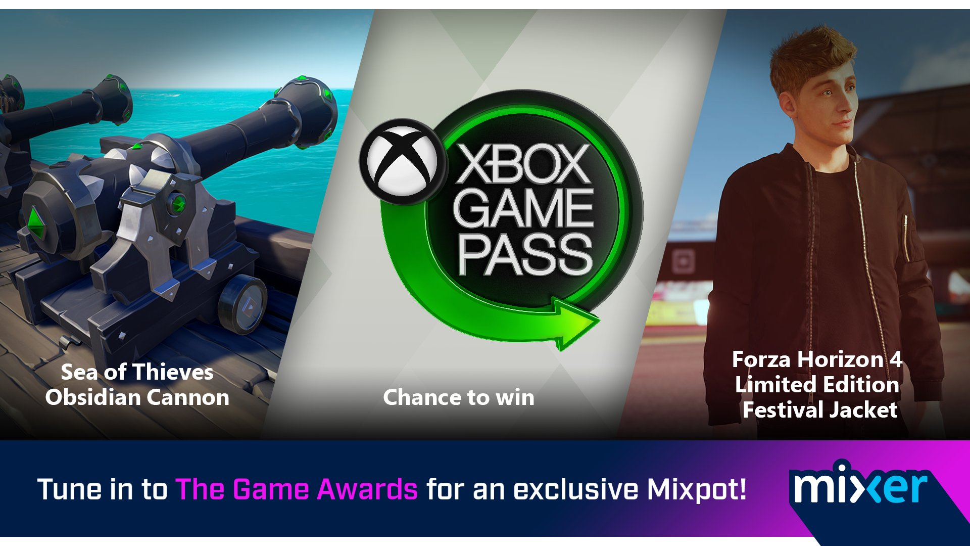Nuevo Mixpot por ver la gala de The Game Awards en Mixer