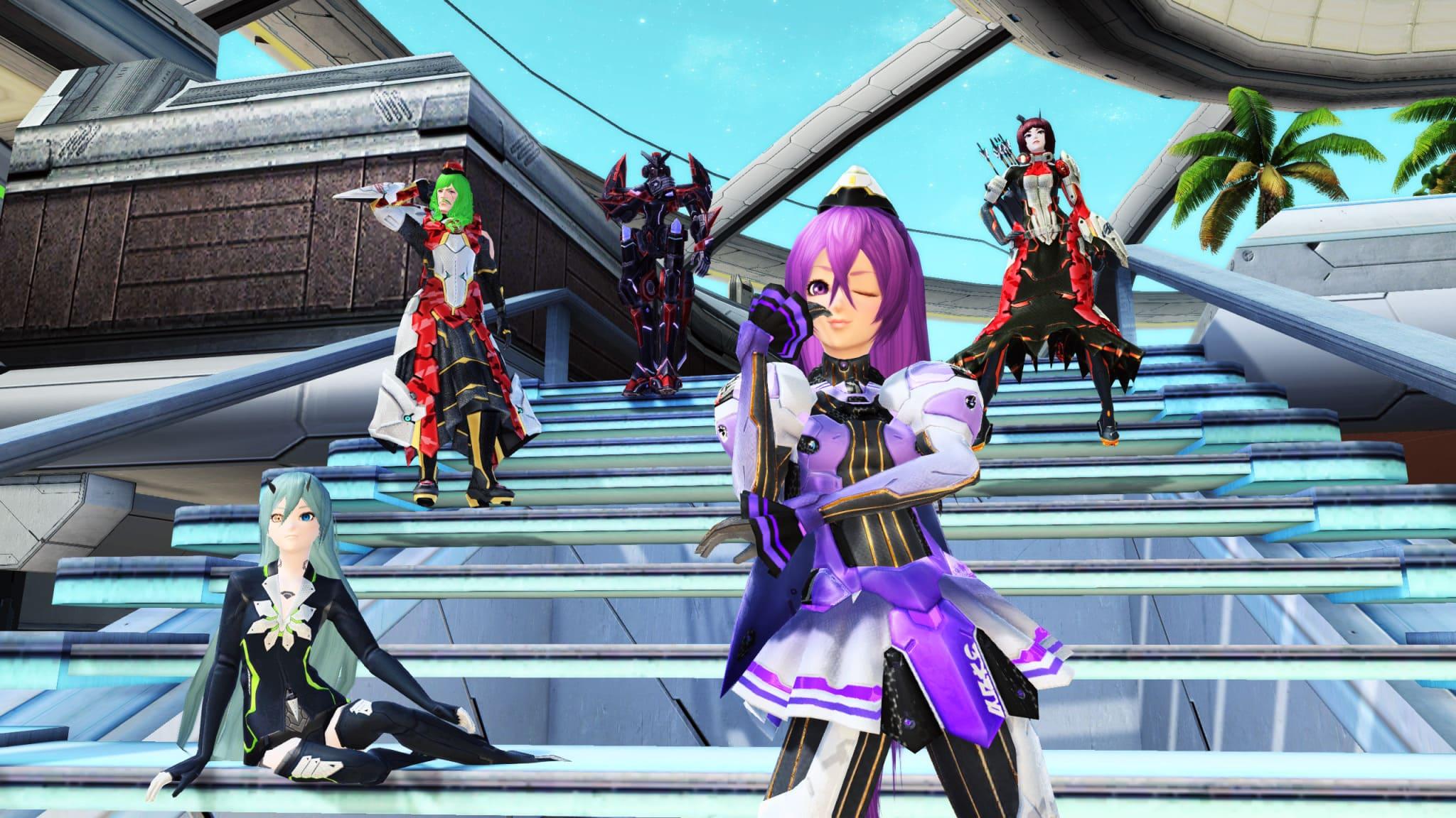 Phantasy Star Online 2 clases