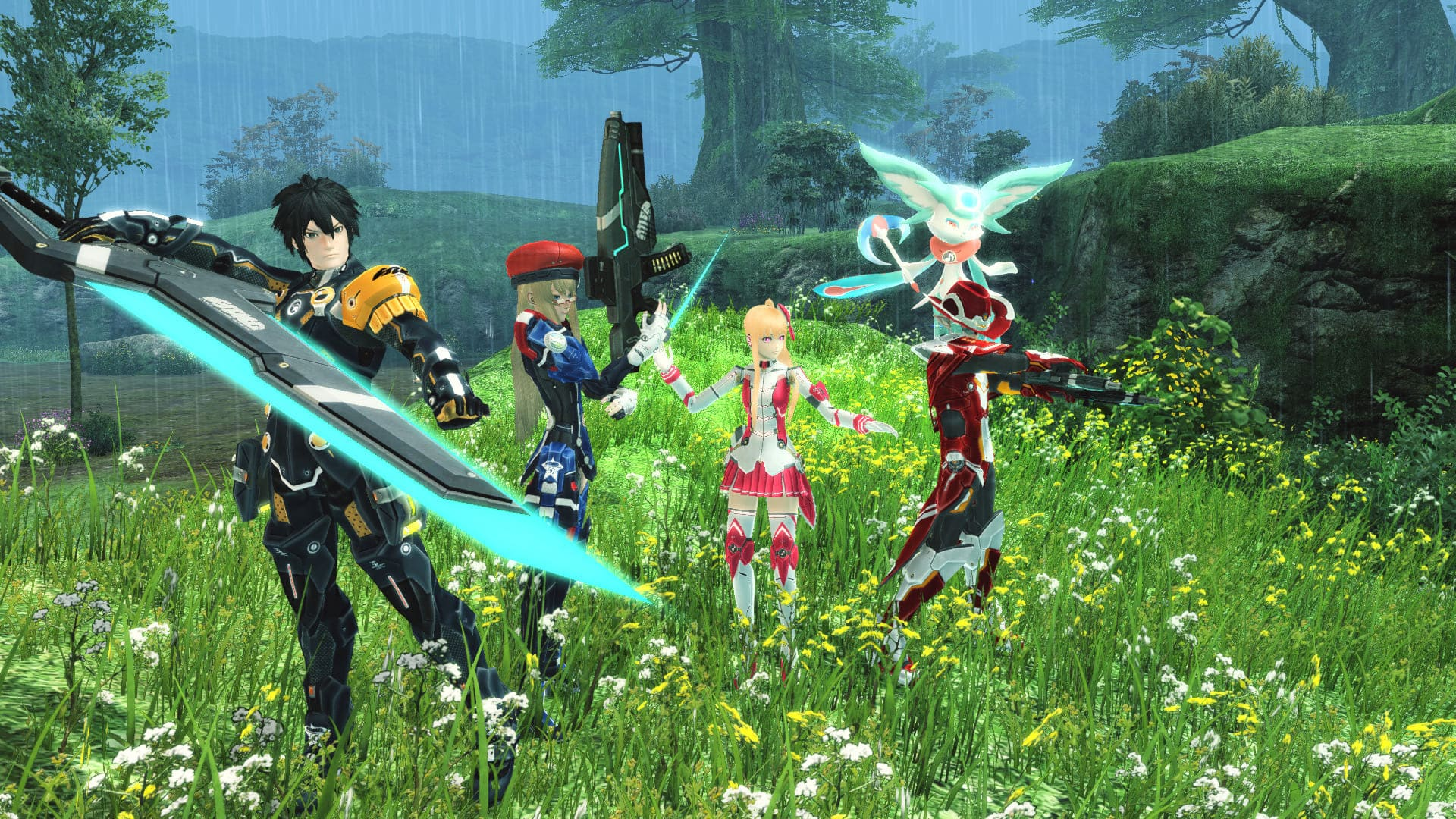 Phantasy Star Online 2 Equipo