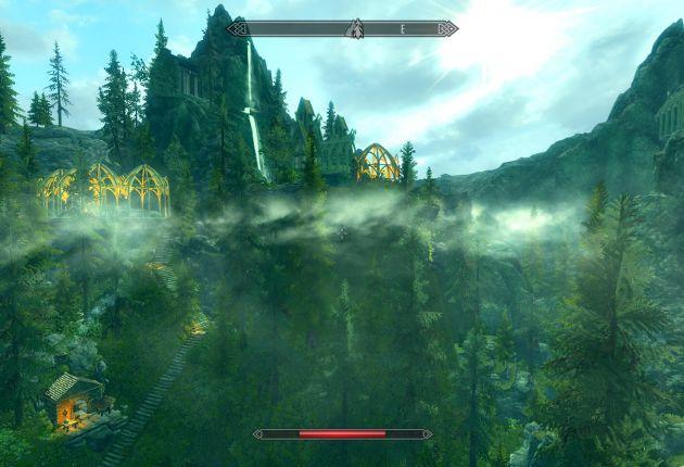 La Tierra Media de Tolkien llega a Skyrim gracias a este mod
