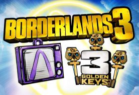 Consigue gratis 3 nuevas llaves doradas para Borderlands 3