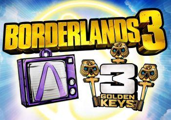 Borderlands 3: Aquí tienes un nuevo código para conseguir 3 llaves doradas gratis