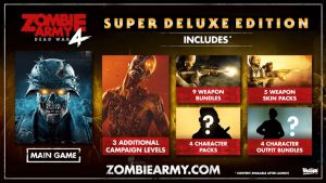 Rebellion muestra sus planes de futuro para Zombie Army 4