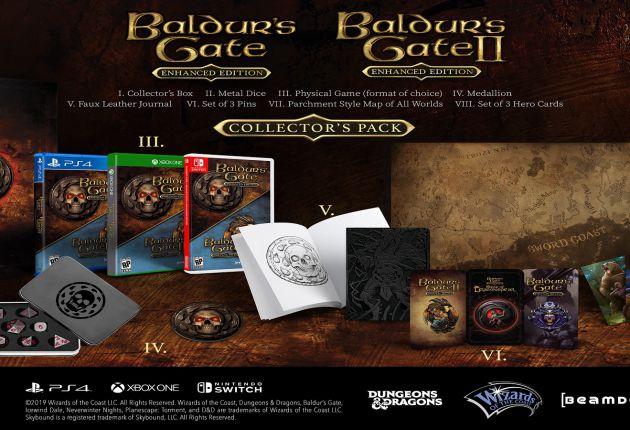 Disponibles para Xbox One las Ediciones Coleccionista de los amados juegos del universo D&D
